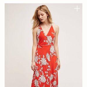 Anthropologie Yumi Kim red dress size S